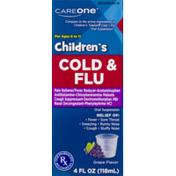 CareOne Children's Cold & Flu Grape