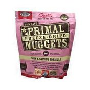 Primal Pet Foods Beef and Salmon Formula Freeze-Dried Nuggets For Cats