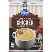 Kroger Condensed Soup, Cream of Chicken