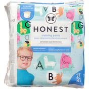 Honest Tea Training Pants, Animal ABC's, 2T 3T (Up to 34 lbs)