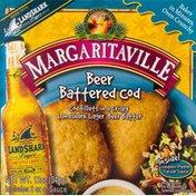 Margaritaville Beer Battered Cod