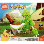 Mega Construx Toy, Pokemon, Slashing Scyther