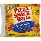 Michelina's Pizza Snack Rolls, Sausage & Pepperoni