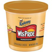 Wis Pride Horseradish Spreadable Cheese