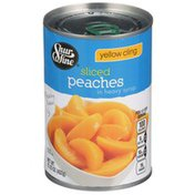 Shurfine Yellow Cling Sliced Peaches In Heavy Syrup