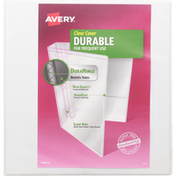 Avery Binder, Clear Cover, 1-1/2 Inch