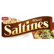 SB Saltines, Wheat