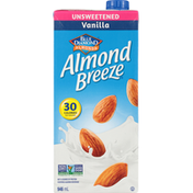 Almond Breeze Fortified Almond Beverage, Vanilla, Unsweetened