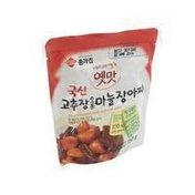 Jongga Garlic Pickle Chili Paste