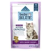 Blue Buffalo Baby BLUE Kitten Crunchies Natural Kitten Treats, Savory Chicken