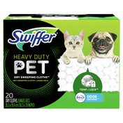 Swiffer Pet Heavy Duty Multi-Surface Dry Cloth Refills For Floor