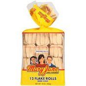 Mary Jane And Friends Brown 'N Serve Flake Rolls