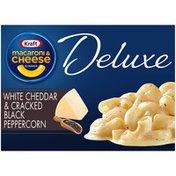 Kraft White Cheddar & Cracked Black Peppercorn Macaroni & Cheese Dinner