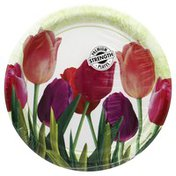 Party Creations Plate, Spring in Bloom