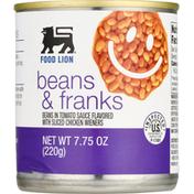 Food Lion Beans & Franks