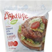 Lightlife Veggie Burgers, Backyard Grill'n Burgers