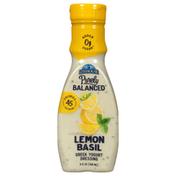 Litehouse Dressing, Greek Yogurt, Lemon Basil