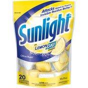 Sunlight Citrus Rush Power Pacs Dishwashing Detergent
