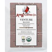 Adbibo Coffee Coffee, Organic, Whole Bean, Medium & Full-Medium Roast, Venture Blend
