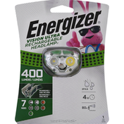 Energizer Headlamp, Rechargeable, Vision Ultra