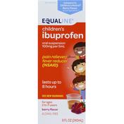 Equaline Ibuprofen, Children's, Oral Suspension, Berry Flavor