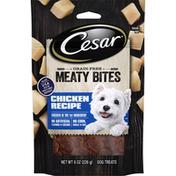 CESAR Grain Free Chicken Recipe Meaty Bites Dog Treats
