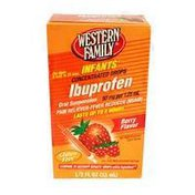 Western Family Infants Berry Flavor Concentrated Ibuprofen Drops
