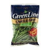 GreenLine Green Beans, Fresh, Family Pack