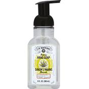 J.R. Watkins Hand Soap, Foaming, Aloe & Green Tea