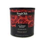 Food Club Classic Medium Roast Ground Coffee