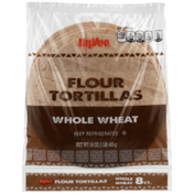 Hy-Vee Whole Wheat Flour Tortillas