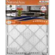 NaturalAire Air Cleaning Filter, Odor Eliminator with Baking Soda, 20 x 25 x 1