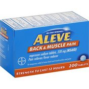 Aleve Back & Muscle Pain, Tablets