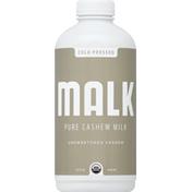 Malk Milk, Pure Cashew, Unsweetened