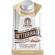 Califia Farms Unsweetened Better Half Coconut Cream & Almondmilk Creamer
