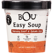 BOU Easy Soup, Shroomy Beef & Brown Rice Flavored, Instant