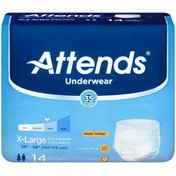 Attends Extra Absorbency X-Large Underwear