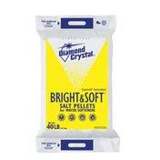 Diamond Crystal Bright & Soft Salt Pellets for Water Softeners