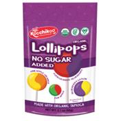 Koochikoo Organic Sugar-Free Assorted Lollipops