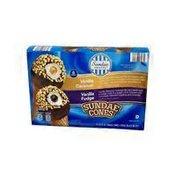 Sundae Shoppe Fudge/Caramel Sundae Nut Cones