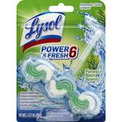Lysol Toilet Cleaner, Automatic, Forest Rain Scent