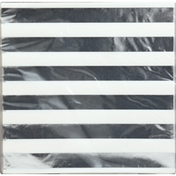Unique Napkins, Silver Stripes, 2 Ply