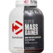 Dymatize Super Mass Gainer Chocolate Protein Powder 6 LBS