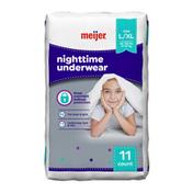 Meijer Nighttime Underwear L/XL