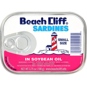 Bumble Bee Sardines in Soybean Oil, Small Size