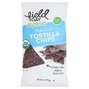 Field Day Tortilla Chips, Organic, Blue Corn