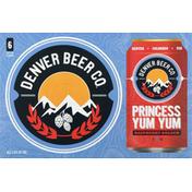 Denver Beer Beer, Raspberry Kolsch, Princess Yum Yum