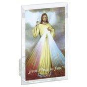 Santos Candle Holder, Religious