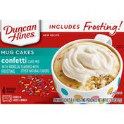 Duncan Hines Mug Cakes Mix, Confetti Cake
