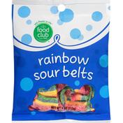 Food Club Rainbow Sour Belts